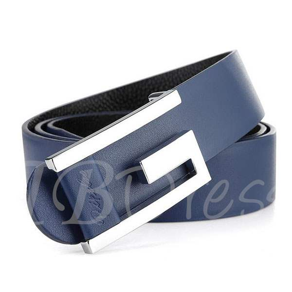 Fashion Alloy Buckle Type Men's Belt
