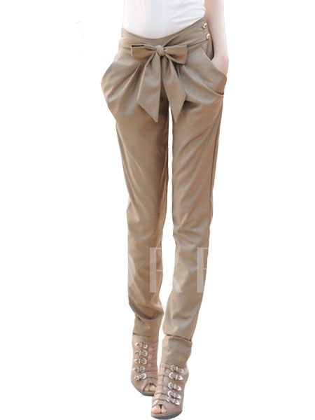 Bow Knot al Haroun Women's Pants
