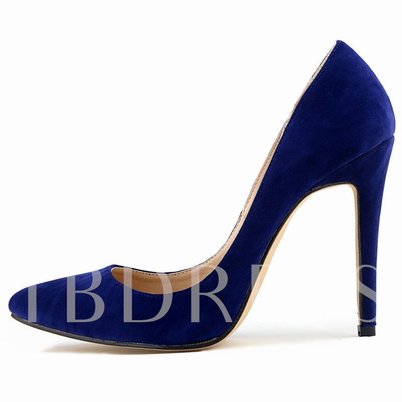 High Heel Pointed Toe Women's Pumps (Plus Size Available)