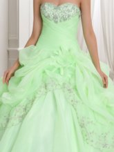 Beaded Ball Gown Quinceanera Dress With Jacket