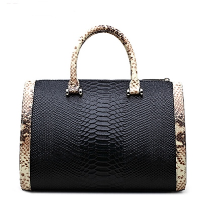 New Crocodile Grain PU Tote Bag