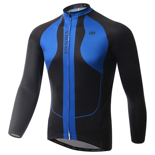 Wind Proof Fleece Lining Warm Men's Cycling Bike Jersey (Plus Size Available)