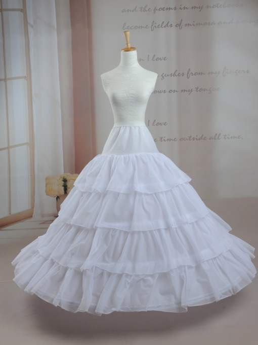 4T Support Puffy Crinoline Wedding Petticoat