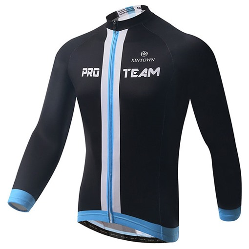 Fleece Lining Wind Proof Warm Men's Cycling Bike Jersey (Plus Size Available)