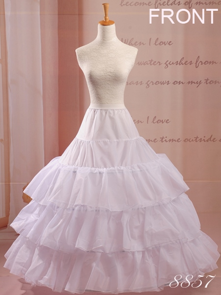 Inexpensive 3T Bridal Crinoline Wedding Petticoat