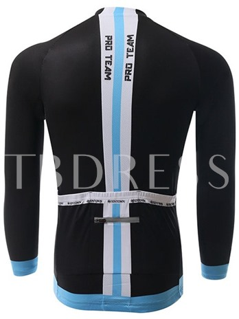 Long Sleeve Perspiration Men's Cycling Bike Jersey (Plus Size Available)