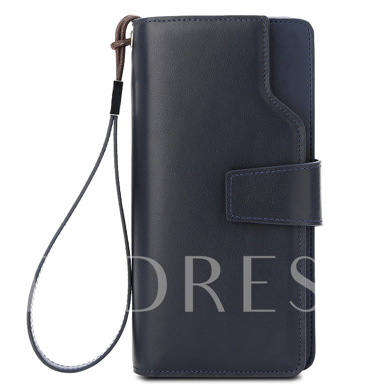 Creative Trends Pure Color Quality Men's Wallet