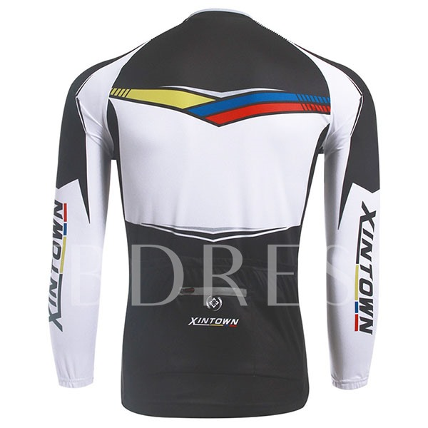 Wind Proof Warm Fleece Lining Men's Cycling Bike Jersey (Plus Size Available)