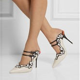 Slip-On Pointed Toe Buckle Women's Pumps