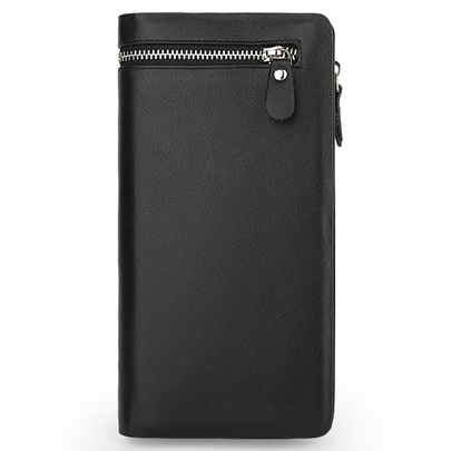 Locomotive Two Zippers Men's Wallet