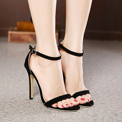 Stiletto Heel Cheap Open Toe Women's Formal Sandals
