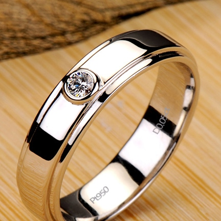Fashion Mark Diamond Shaped Ring