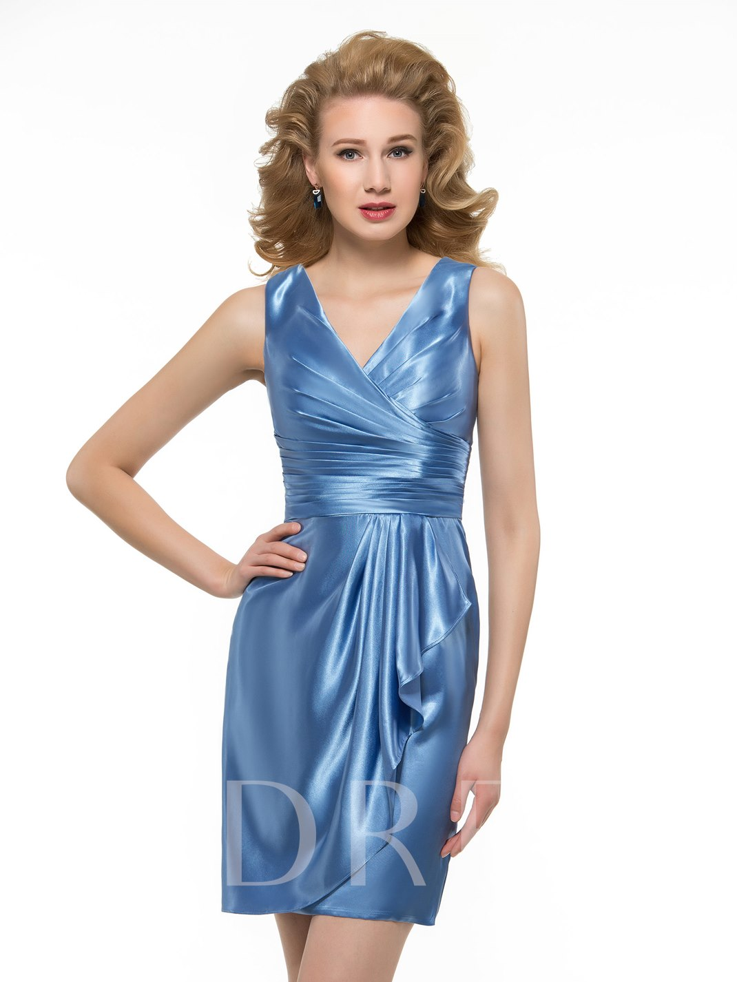 Column Mother of the Bride Dress with Jacket - Tbdress.com