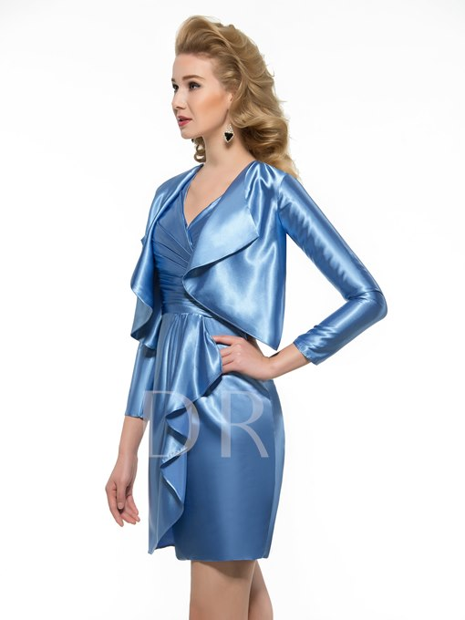 Column Mother of the Bride Dress with Jacket