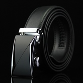 Casual Smooth Buckle Men's Belt