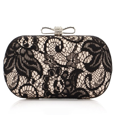 Exquisite Lace Flowers Women's Clutches