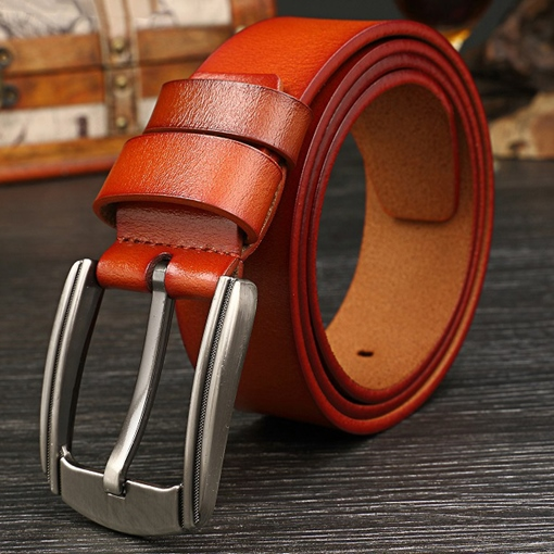 Retro Pin Buckle Embossed Men's Belt