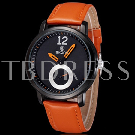 Casual Pin Buckle Quartz Men's Watch