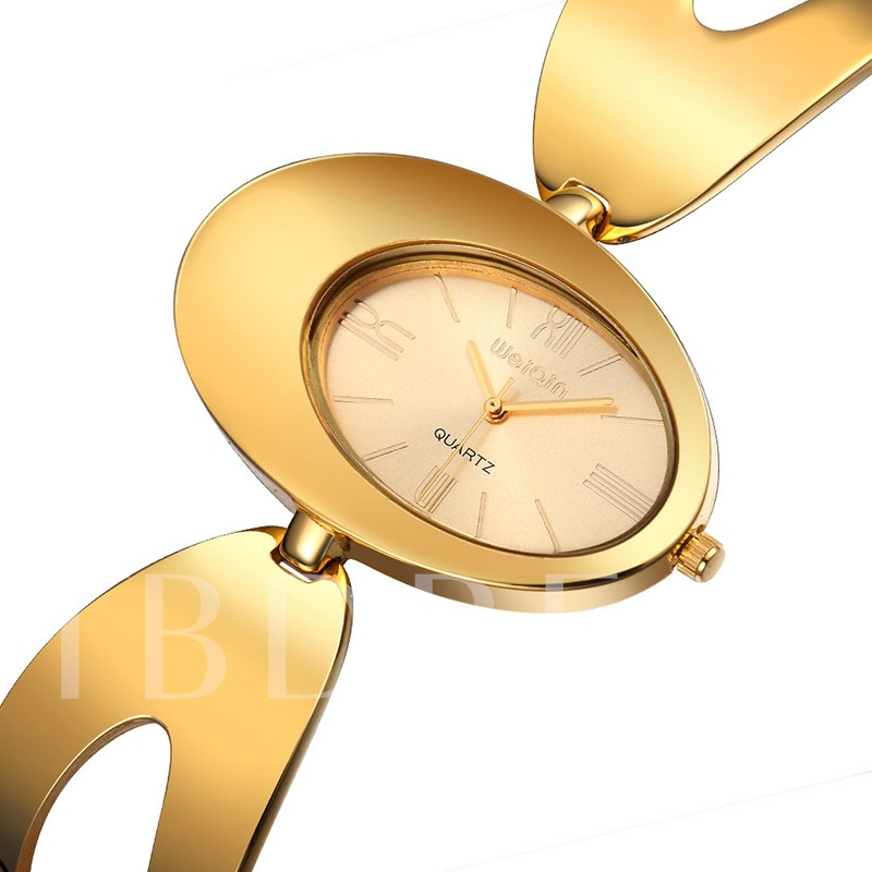 Magnificent Golden Design For Ladies Watch