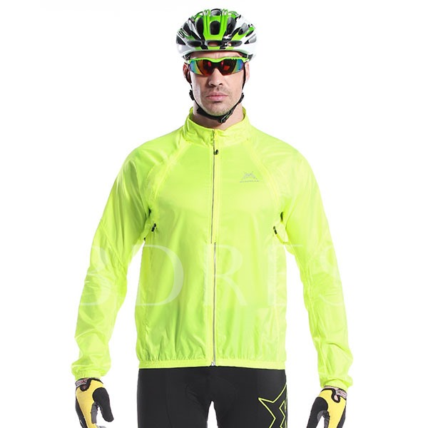 Windproof Multifunctional Outdoor Men's Cycle Jersey (Plus Size Available)