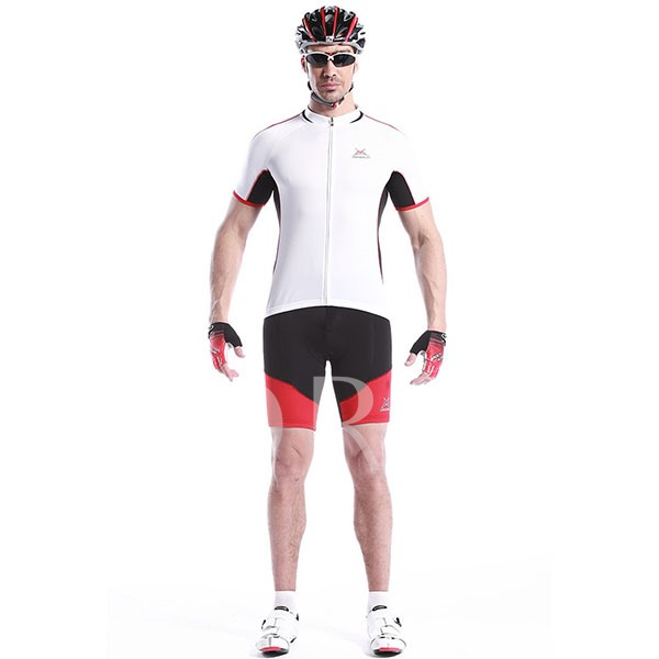 Short Sleeve Outdoor Men's Cycling Bike Jersey (Plus Size Available)