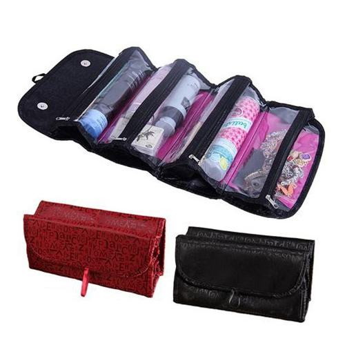 Cosmetic Bag Super Roomy pliables femmes