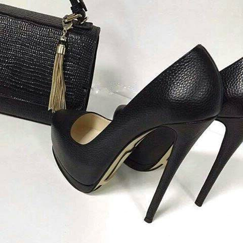 Minimalism Plain Platform Shoes Women's Formal Pumps