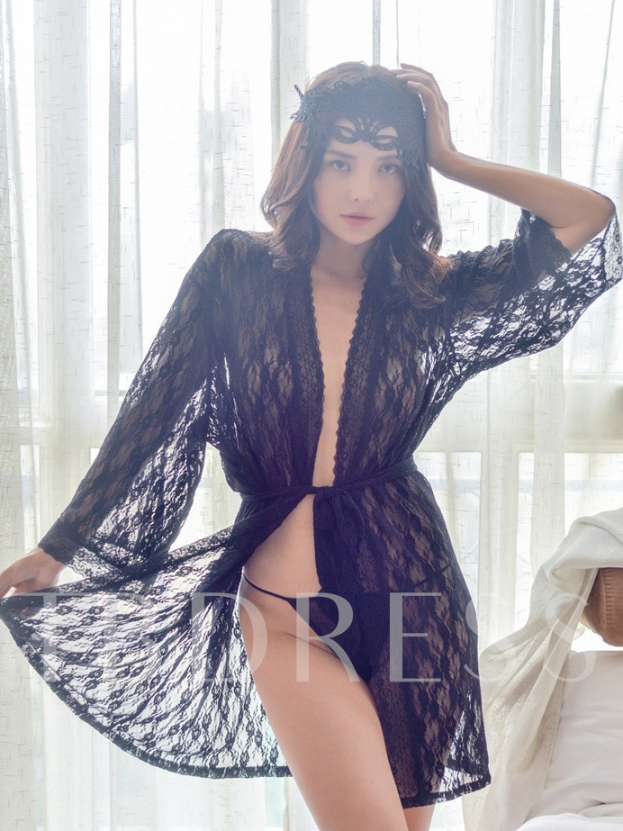 Sexy Chic Lace Robe Babydoll Sexy Lingerie