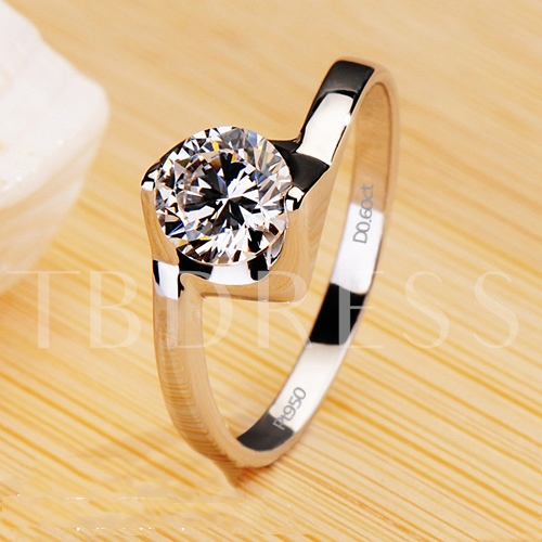 Mark 950 Ms NSCD Diamond Shaped Ring