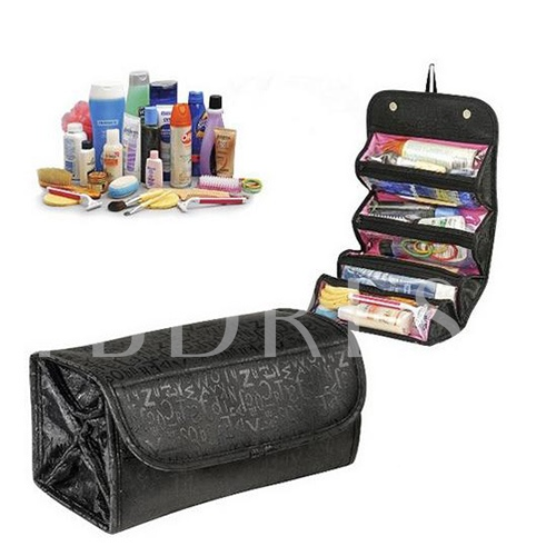 Super Roomy Folding Women's Cosmetic Bag