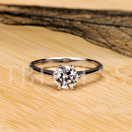 Bright Light NSCD Diamond Shaped 60 Points Ring