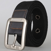 Fashion Pin Buckle Canvas Men's Belt