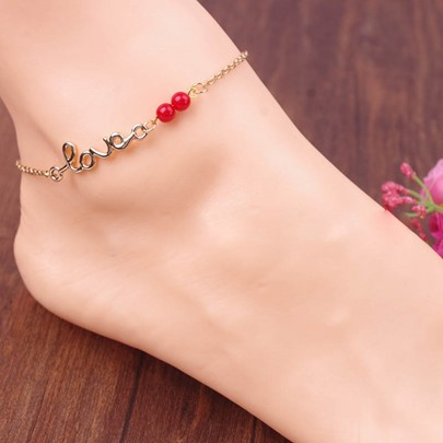 Mini Lucky Love Women's Anklet