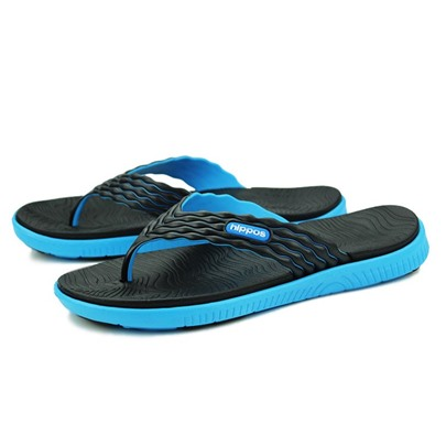 Color Block Flat Heel Thong Men's Slippers