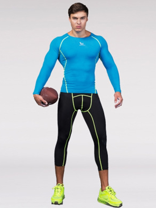 Form-Fitting Quick-Dry Top Pants Men's Sports Suit