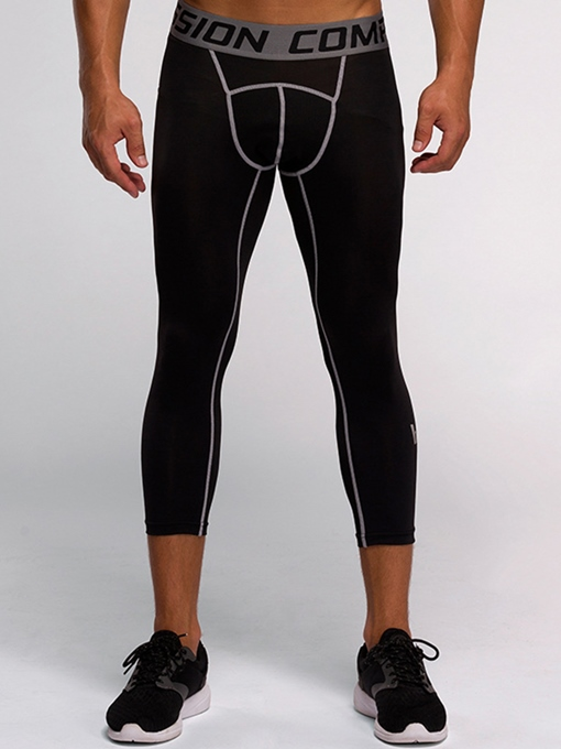 Sweat-Absorption Fast Drying Springy Men's Running Pants