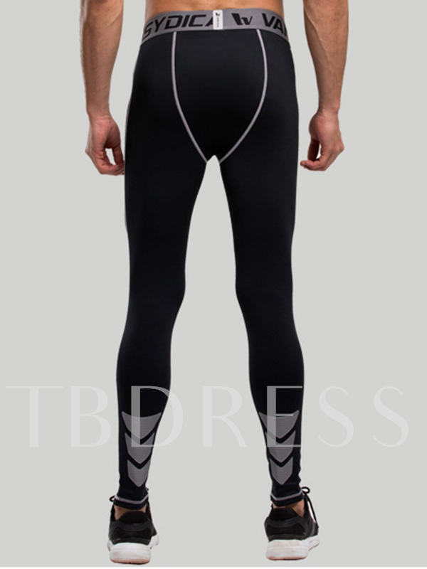 Fitness Fast Drying Springy Men's Sports Pants