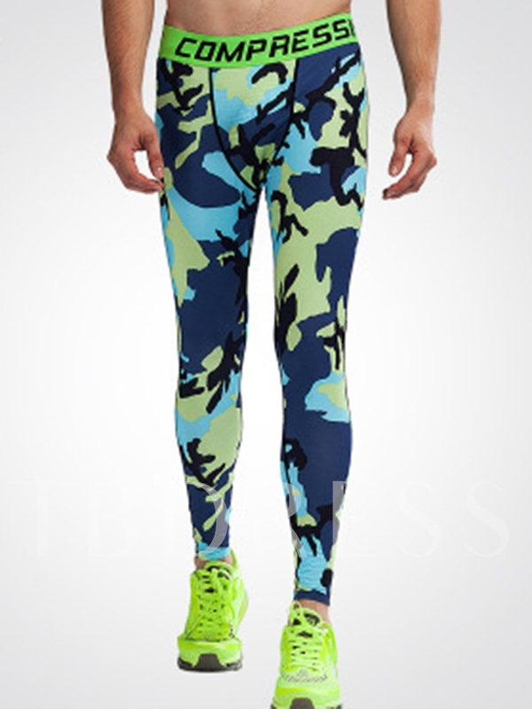 Camouflage Fast Drying Breathable Men's Sports Pants
