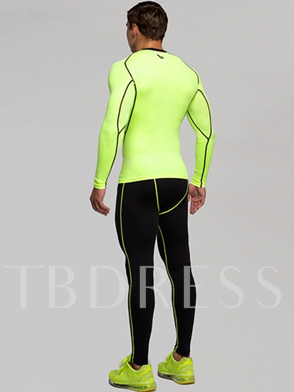 Comfortable Quick-Dry Top Pants Men's Sports Suit