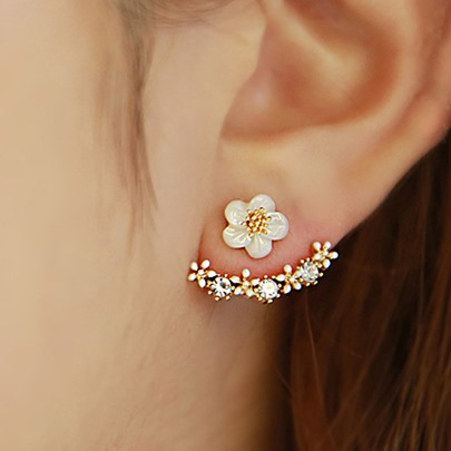 Beautiful Flower Women's Earrings