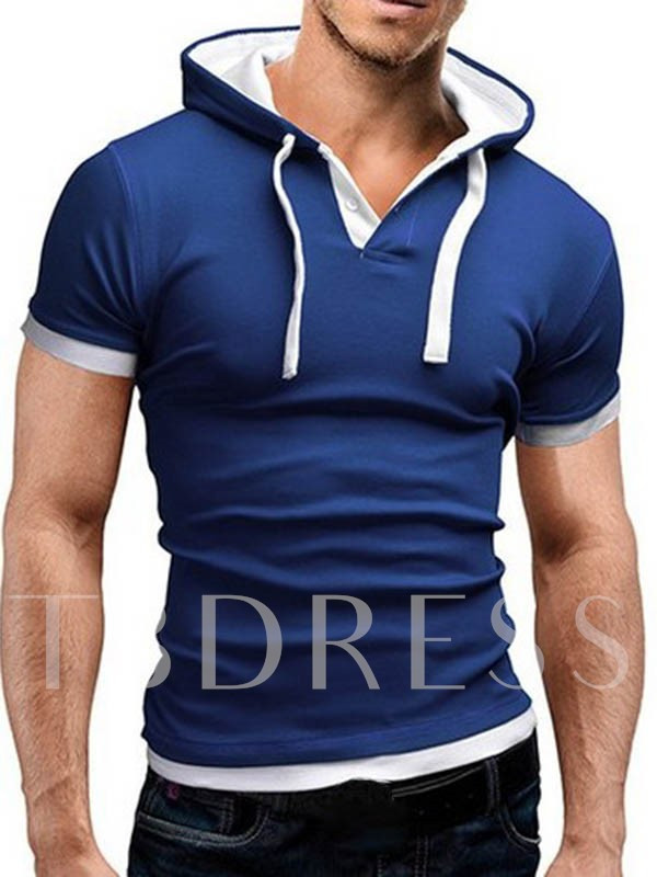Men's Layered Tee with Hat