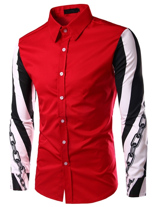 Men's Shirt with Major Block