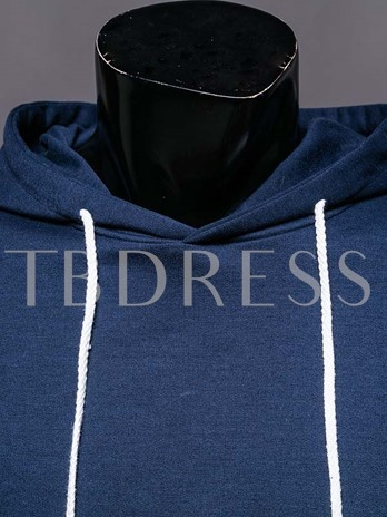 Men's Hoodie with Solid Color High Premium