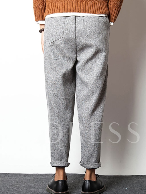 Men's Linen Pants with Relaxed Fit
