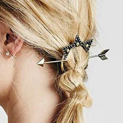 Vintage Arrow Stars Hair Accessories