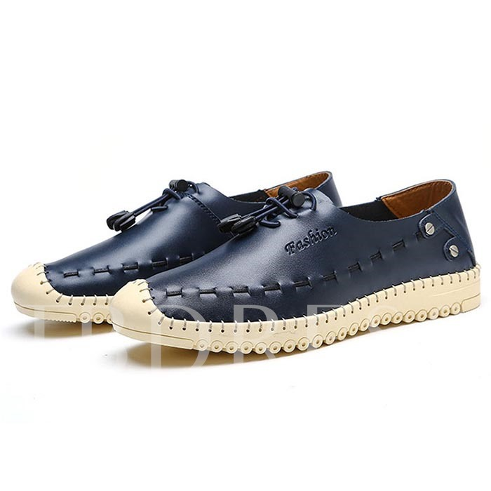 Tassel Flat Heel Round Toe Men's Loafers