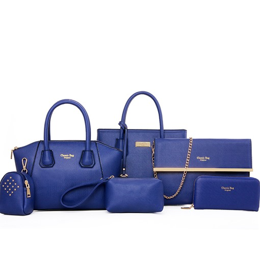 Deluxe Multi-Function Women's 6 Pieces Bag Set