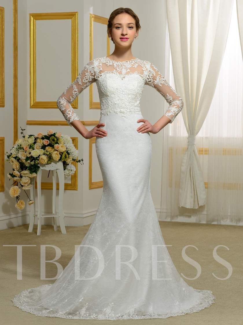 Sold Out: Dd Neck Wedding Dress At Websimilar.org