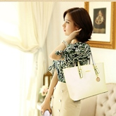Elegant Stitching 3 Piece Women Bag Set