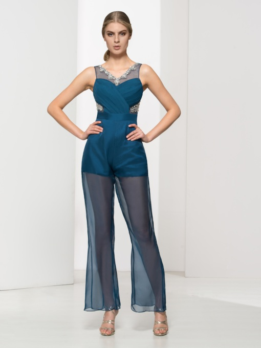 06e238ba230 Plus Size Formal Jumpsuits - Tbdress.com